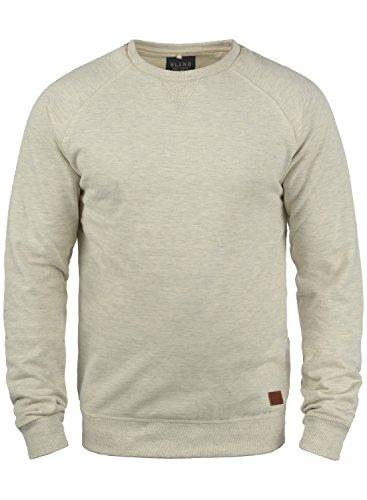 BLEND Alex 20701680ME Sweatshirt, Größe:L;Farbe:Sand Mix (70810) (Jacke Fleece-camouflage)