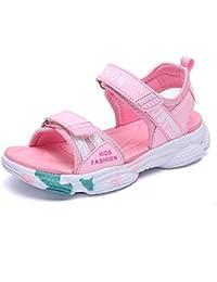 63c6e50c2 Sandalias Niño Velcro con Plantillas de Trekking Senderismo Zapatillas Niña  de Zapatos Unisex