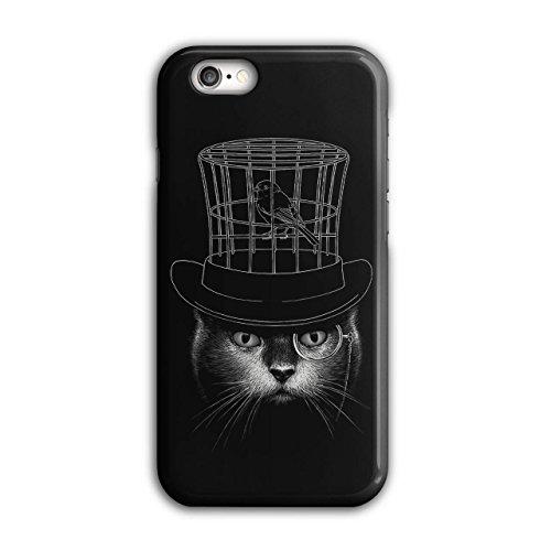 Hut Verstand Vogel Käfig Katze Gentleman Haustier iPhone 6 / 6S Hülle   (Hut Ägyptische)