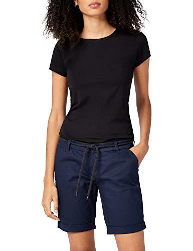 ONLY NOS Damen Shorts onlPARIS L Long CHI Belt PNT NOOS, Blau Navy Blazer, W(Herstellergröße: 36)