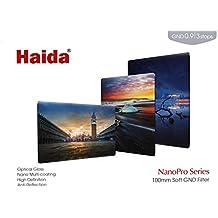 Nuevo: HAIDA Pro II MC (revestido de múltiples capas) Vidrio óptico de alta calidad - 150 mm x 100 mm GND Soft Edge Graduado Filtro 0.9 (8x) 12,5 %