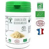 Levure de bière Revivifiable bio | 60 gélules | Complément alimentaire | Ongles & Cheveux | Bioptimal nutrition naturelle |...
