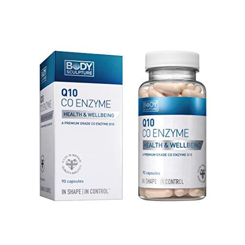 Q10 Co Enzyme 90 Kapseln 100 mg hochdosiertes Coenzym Antioxidantien Zellwachstum Zellerneuerung