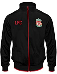 ca8f495e8c0 Liverpool FC Official Football Gift Mens Retro Track Top Jacket