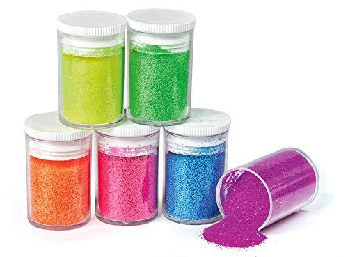 UIT Glitter 6er-Set Neon