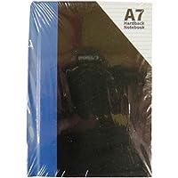 A7 Couverture Rigide Poche Carnet - Paquet de 3 - Taille 105mm x 74mm