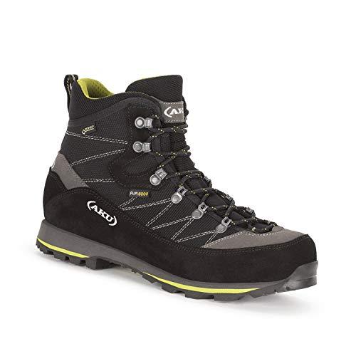 AKU Trekker Lite III GTX - Wanderschuh - Trekkingschuh - Outdoorschuh - für Herren - Farbe: schwarz-grün (40 EU)