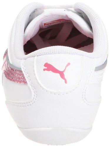 Puma - Jr Talulla Glamm, Sneaker Bambina Bianco (Blanc (6))