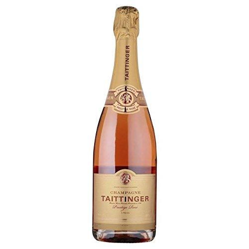 Taittinger Prestige Rosé Brut NV Champagne 75cl - (Packung mit 6)