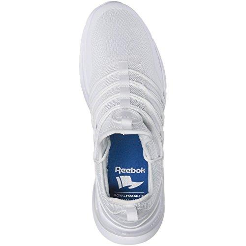 Reebok Royal Astrostorm, Sneakers Basses Homme Weiß (White/White)