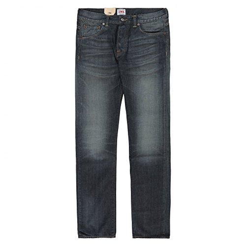 Edwin Denim ED-71 Slim Quartz Japanese Denim Jean - Biker Wash Blue Denim
