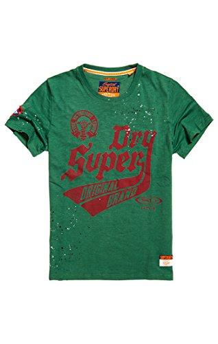 Superdry Herren Legiontee T-Shirt, Grün (Outback Green Xos), Medium