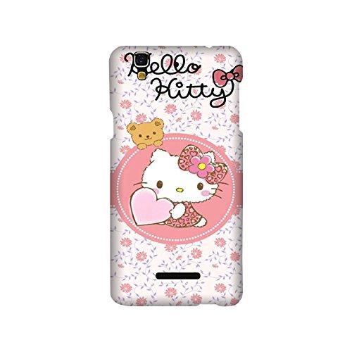 Yashas High Quality Designer Printed Case & Cover for YU Yureka plus (Hello Kitty)