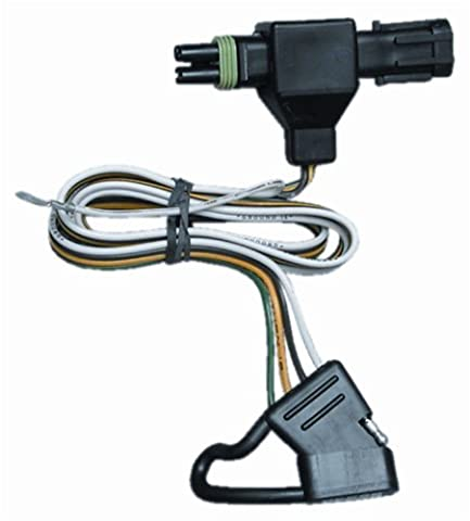 Hidden Hitch 118312 - T-One Connector Color - Black by Tow Ready