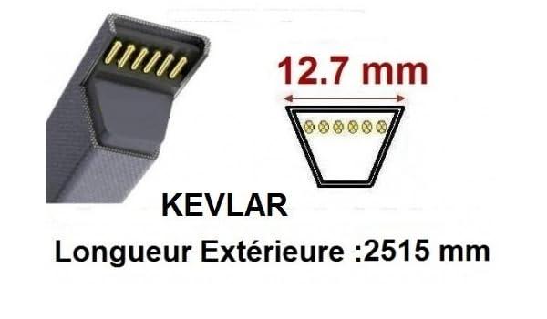 Courroie 4L990 L499-48X990-4L99-6899 Renforc/ée Kevlar Teknic