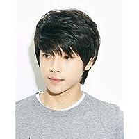 شعر مستعار قصير ناعم مموج لرجال لمحبي الطراز الكوري العصري BLL-9522