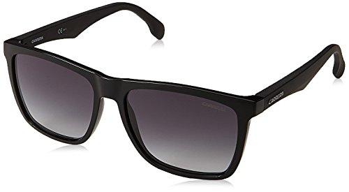 Carrera UV Protected Rectangular Unisex Sunglasses - (CARRERA 5041/S 807 569O|56|Black Color)