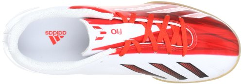 adidas Performance  F10 IN, Chaussures de football homme Blanc - Weiß (RUNWHT/BLACK)