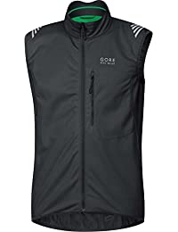 Gore Bike Wear Element Windstopper Soft Shell - Chaleco para hombre, color negro
