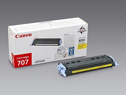 Preisvergleich Produktbild Canon 707Y - Gelb - Original - Tonerpatrone - für i-SENSYS LBP5000, LBP5100; Laser Shot LBP-5000, 5100