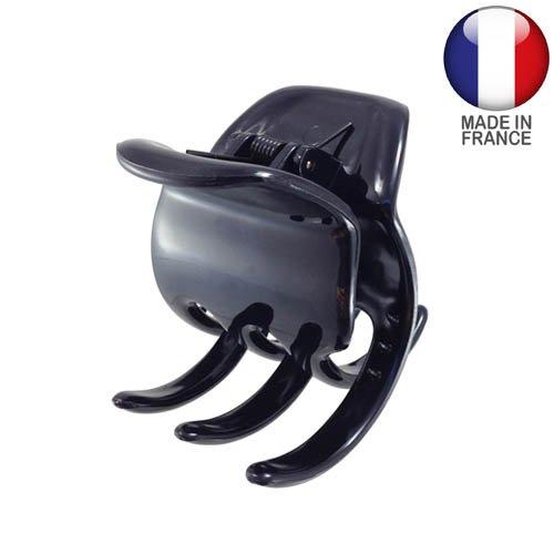 274 – 001 – Pince pour cheveux français cm 5 Noir – Pinces pour Cheveux