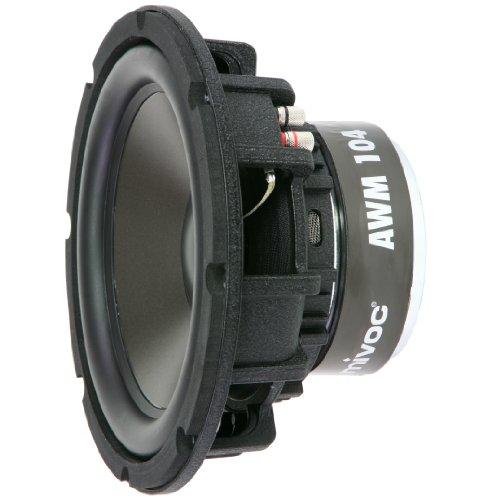 mivoc AWM 104 25cm (10in) Tieftonsystem 200 Watt R.M.S. 200w Rms Subwoofer