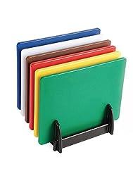 Hygiplas LD Chopping Board Set(6xBoards, rack & Wall Chart)