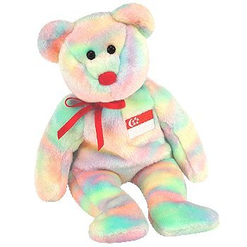 1 X TY Beanie Baby - SINGABEAR the Bear (Singapore Exclusive)