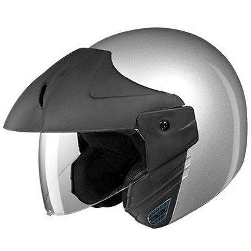 Studds Ninja Concept Eco Half Helmet (Gun Grey, XL)