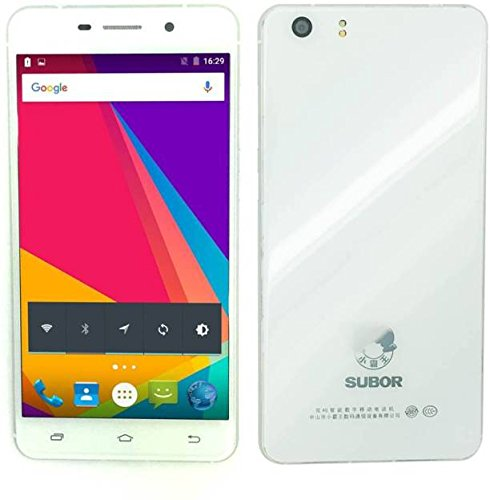 """SUBOR S5 (4G) LTE, 5.5"""" HD DISPLAY, 2GB RAM & 16GB ROM, 13MP BACK & 8MP FRONT CAMERA, ANDROID v5.1 LOLIPOP, WITH BACK COVER"""