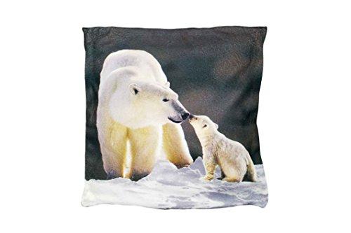 Couleur Montagne Coussin Décor Polyester Imprime 40 x 40 x 40 cm