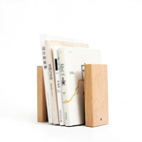 DFHHG® Soportes de libros, libros de madera maciza Liushi study Decoration ideas durable