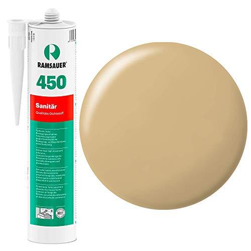 Ramsauer 450 1K Silikon Dichtstoff 310ml Kartusche (Eiche) (Parkett Desinfektionsmittel)