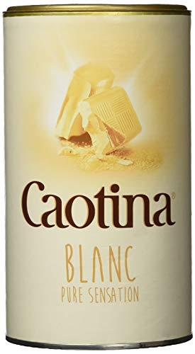 Caotina blanc, Kakao Pulver mit weißer Schweizer Schokolade, heiße Schokolade, Trinkschokolade, 3er Pack, 3 x 500g.