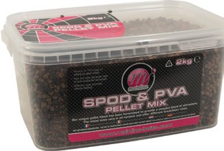 Mainline Baits Carp fishing Spod and PVA Pellet Mix - 2kg of PVA Friendly Groundbait from Mainline