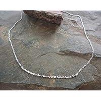 ✿ Catena in argento sterling 925 molto delicato Real
