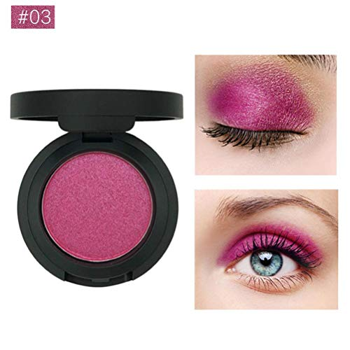 Preisvergleich Produktbild gaddrt Lidschatten-Palette Glänzender Glitzer-Puder-Augen-Schatten Make-up Perle Metallic (C)