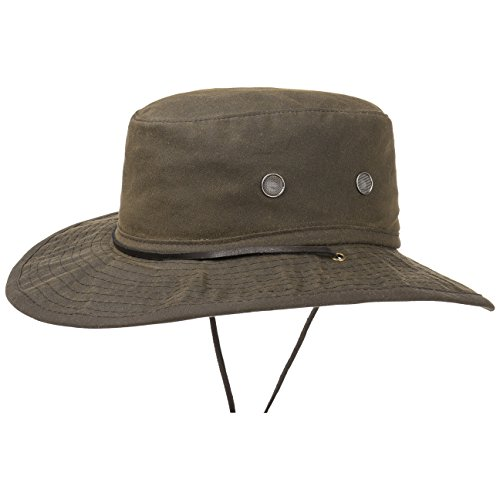 Chapeau Outdoor Boon Oiled Cotton chapeau d´exterieur chapeau de pluie Marron