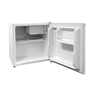 Cookology Table Top Mini Fridge in White, A+ Rated, 46 Litre Refrigerator with Ice Box | Fast Delivery Service by Cookology
