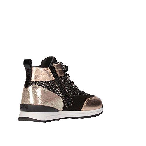 Hogan Junior HXT2610W460F400YY1 Sneakers Bambino Nero/Oro