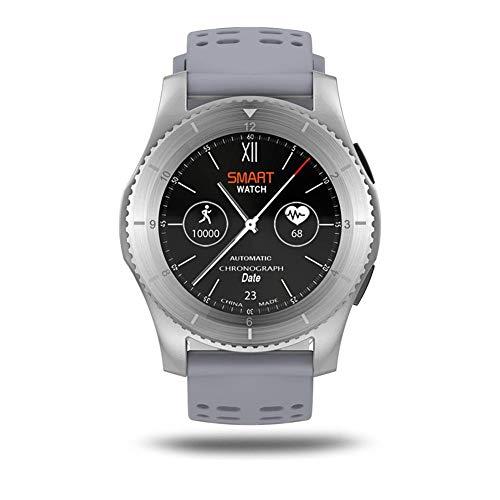 Là Vestmon Smartwatch GS8 MTK2502, Display IPS 1,3 pollici, Compatibile con iOS + Apple iPhone e Android, Fitness Activity Tracker Cardio Pedometro Sport Nuoto Running Contapassi/Monitor del Sonno