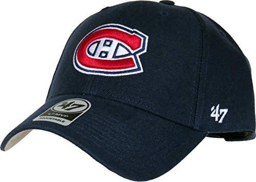 Montreal Canadiens 47 Brand MVP Adjustable Navy Blue NHL Cap