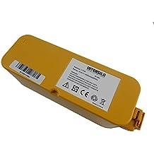 Batería INTENSILO NiMH 4500mAh (14.4V) para aspiradores robot iRobot Roomba Discovery SE, FloorVac 400 sustituye 11700, 17373...