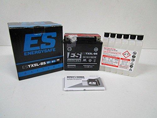 BATTERIA ENERGYSAFE ESTX5L-BS 12V/4AH PER YAMAHA BW'S 100 1999-2001
