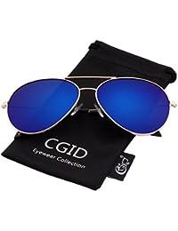 CGID MJ89 Lente Antirreflejante Completo Pilot Polarizado UV400 Gafas de  Sol con Diseño de Moda Retro a1ce7aef12