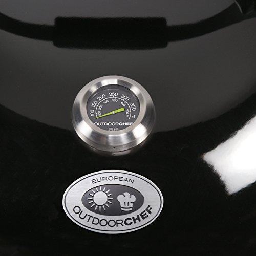 41jP wx6AVL - Outdoorchef Grillzubehör, Thermometer, schwarz, 5,3x5,3x7 cm, 18.211.66