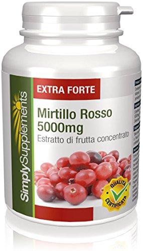 Foto de Arándanos Rojos 5000mg - 360 Comprimidos - Hasta 1 año de suministro - Ayuda a proteger el cuerpo contra las infecciones urinarias -