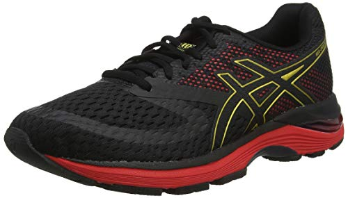 ASICS Gel-Pulse 10 1011a604-001, Scarpe da Running Uomo, Nero (Black/Rich Gold 001), 43.5 EU