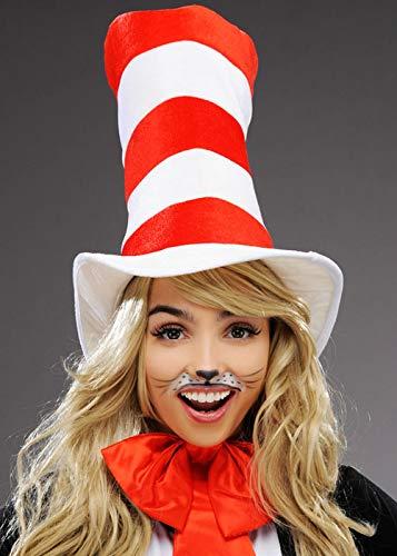 Magic Box Int. Erwachsene Größe Katze im Hut hohen gestreiften Hut