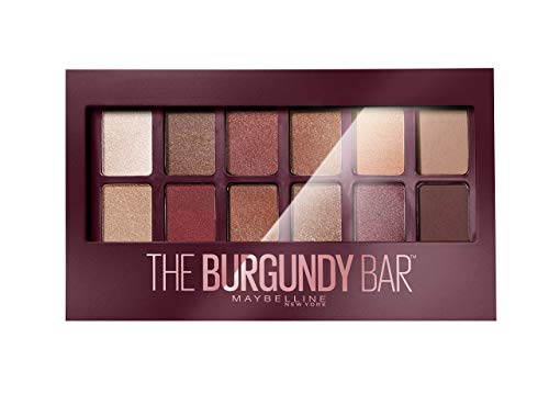 Maybelline New York - Palette Fards à Paupières - The Burgundy Bar